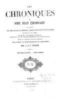 Les chroniques de sire Jean Froissart