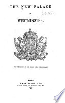 The New Palace of Westminster     Book