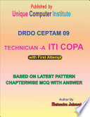 DRDO CEPTAM (TECH- A ) 09 TIER 1