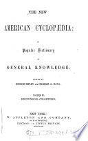The New American Cyclop Dia Ed By G Ripley And C A Dana