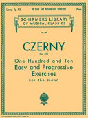 110 Easy and Progressive Exercises, Op. 453