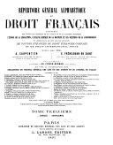 Répertoire général alphabétique du droit français