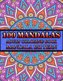 100 Mandalas Adult Coloring Book Mandala Pattern