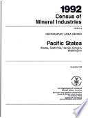 1992 Census Of Mineral Industries