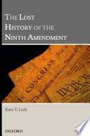 The Lost History of the Ninth Amendment Book