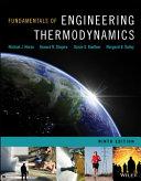 Fundamentals of Engineering Thermodynamics, 9E