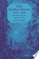 The Gothic Novel 1790 1830