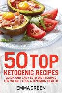 50 Top Ketogenic Recipes Book PDF