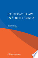Contract Law in South Korea Book