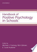 Handbook of Positive Psychology in Schools Book