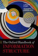 The Oxford Handbook of Information Structure Pdf/ePub eBook