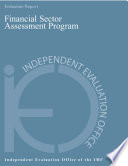 Ieo Report On The Evaluation Of The Financial Sector Assessment Program
