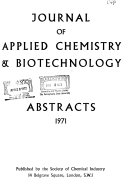 Journal of Applied Chemistry and Biotechnology Abstracts
