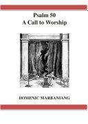 Psalm 50 a Call to Worship Pdf/ePub eBook