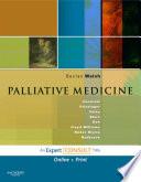 Palliative Medicine E Book