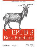 EPUB 3 Best Practices Pdf/ePub eBook