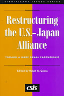 Restructuring the U S  Japan Alliance