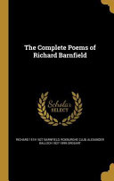 Comp Poems Of Richard Barnfiel