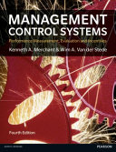 Cover of Management Control Systems 4th Edition