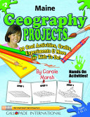 Maine Geography Projects - 30 Cool Activities, Crafts, Experiments & More for Kids to Do to Learn About Your State!