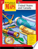 Maps: United States and Canada, Gr. 4-6, eBook