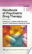 """Handbook of Psychiatric Drug Therapy"" by Lawrence A. Labbate, Jerrold F. Rosenbaum"