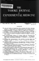 The Tohoku Journal of Experimental Medicine
