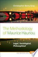 The Methodology of Maurice Hauriou