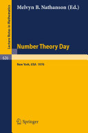 Number Theory Day