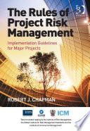 The Rules of Project Risk Management Book