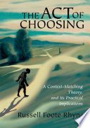 The Act of Choosing