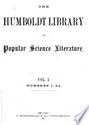 The Humboldt Library of Popular Science Literature ...