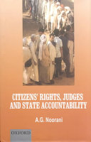 Citizens Rights Judges And State Accountability