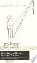 Proceedings - Institution of Mechanical Engineers