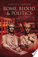 Rome  Blood and Politics Book
