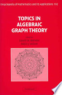 Topics in Algebraic Graph Theory