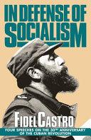 In Defense of Socialism Book