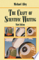 The Craft Of Scientific Writing Book PDF