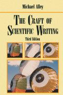 The Craft of Scientific Writing [Pdf/ePub] eBook