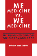 Me Medicine vs. We Medicine ebook