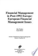 Journal of Multinational Financial Management