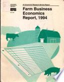 Farm Business Economics Report Book