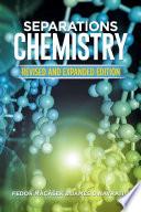 Separations Chemistry