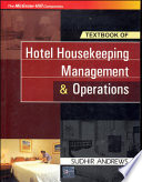 """Text Bk Of Hotel Housekeeping"" by Andrews"