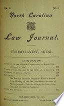 North Carolina Law Journal