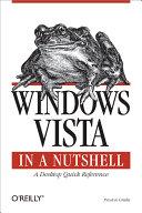 Windows Vista in a Nutshell [Pdf/ePub] eBook