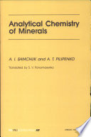 Analytical Chemistry Of Minerals