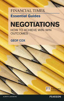 FT Essential Guide to Negotiations ePub eBook