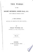 The Works of the Joseph Hall  2 Book PDF