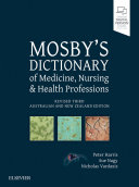 Mosby s Dictionary of Medicine  Nursing and Health Professions   Revised 3rd Anz Edition